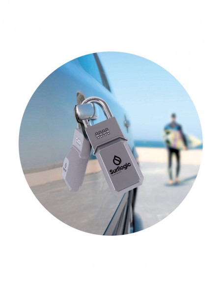Candado guarda llaves standard SurfLogic plata