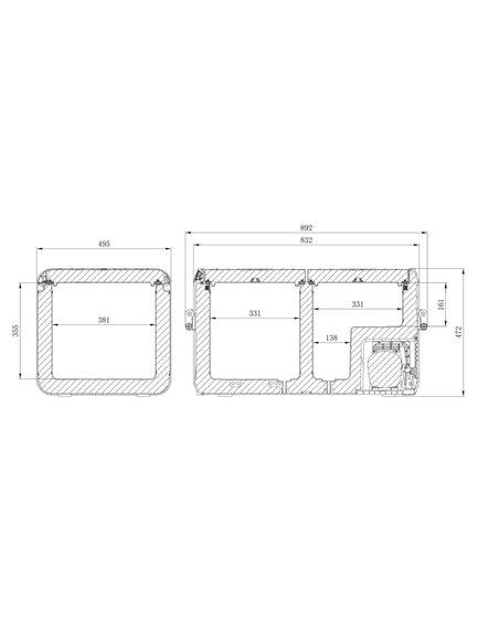 Nevera Compresión CFX3 75DZ Dometic