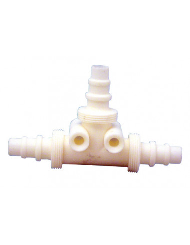 Distribuidor agua 2 salidas para tubo